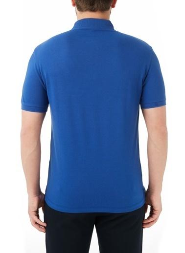 Emporio Armani  Pamuklu Düğmeli Polo T Shirt Erkek Polo 3K1Fa6 1Jptz 0921 Lacivert